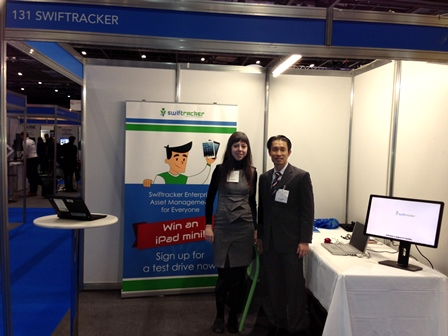 Swiftracker at Cloud Expo Europe