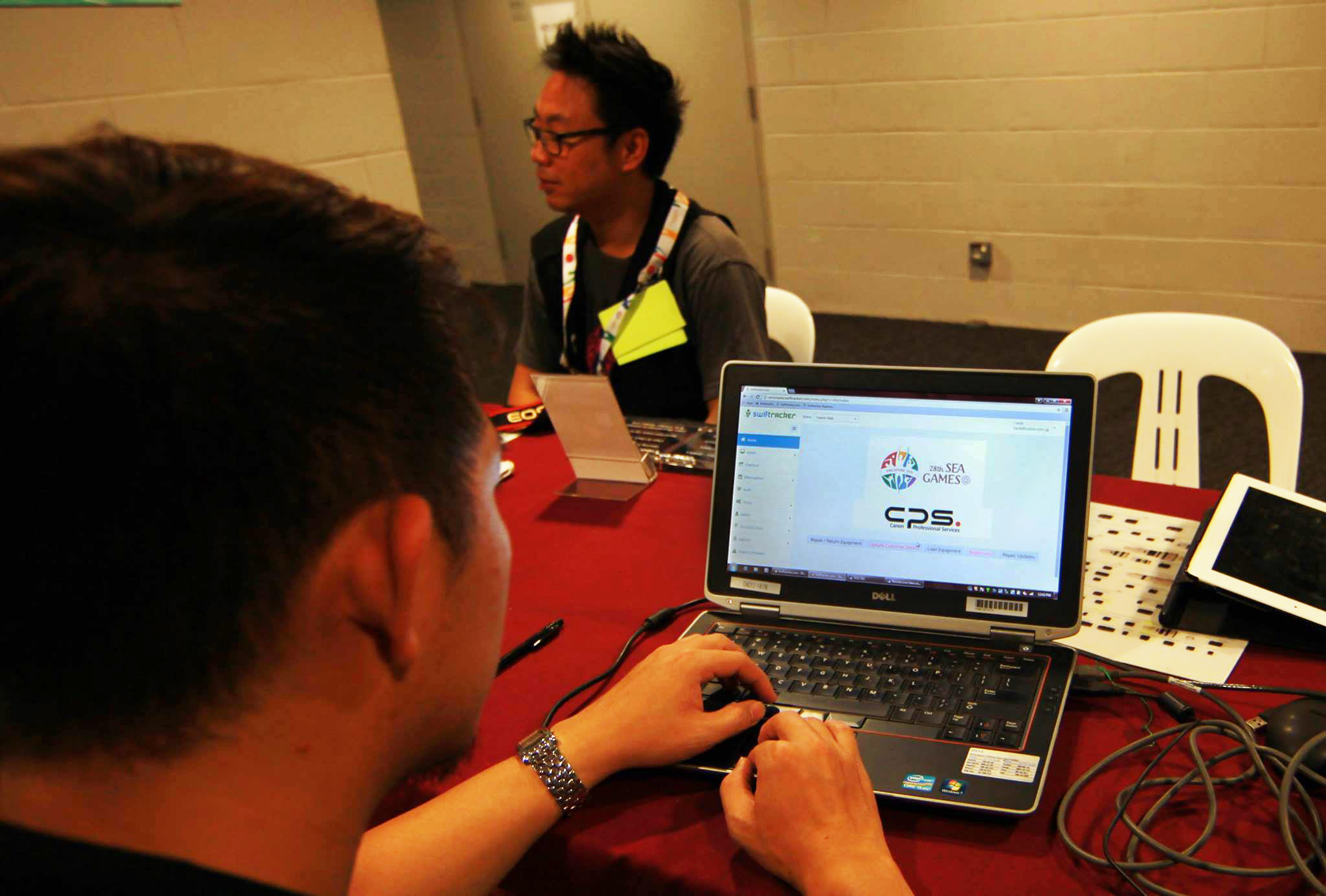Swiftracker in action at the 28th SEA Games Singapore 2015 !